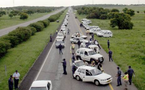 Traffic officials stopped nearly 2, 400 drivers at the weekend in 24 roadblocks across CT. Picture: Sapa