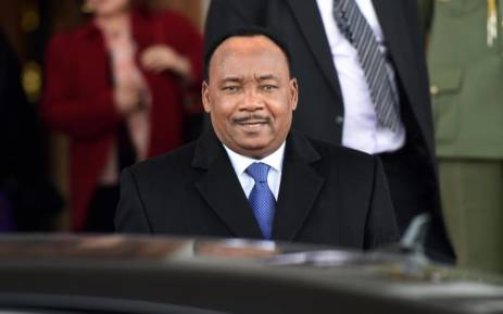 Niger's President Mahamadou Issoufou. Picture: AFP.