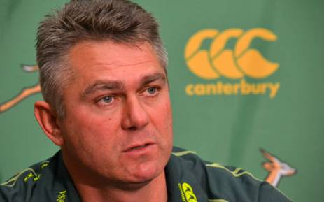 Springbok coach Heyneke Meyer during the team announcement in Cape Town on 15 August 2012. Picture: Aletta Gardner/EWN