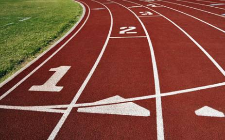 """Curved athletics track. Picture: sxc.hu."