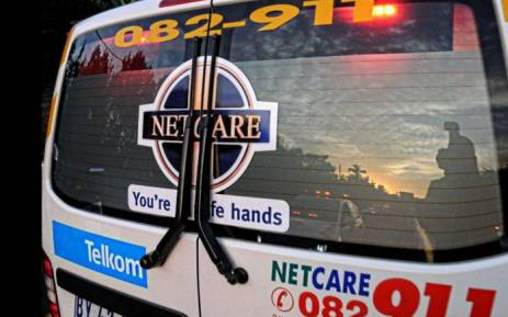 Netcare 911. Picture:  Supplied.