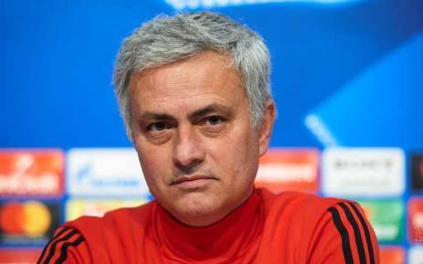 Manchester United manager Jose Mourinho. Picture: @ManUtd/Twitter.