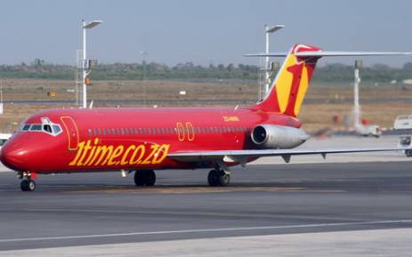 Low-cost airline 1time has filed for liquidation.