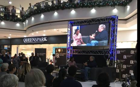 The launch of 'The President's Keepers' by Jacques Pauw in Pretoria. Picture: Hitekani Magwedze/EWN.