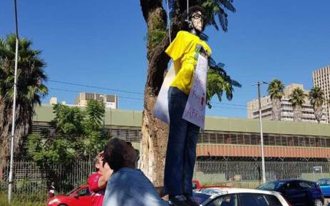 Hung effigy of MEC Lesufi a cowardly act by racists