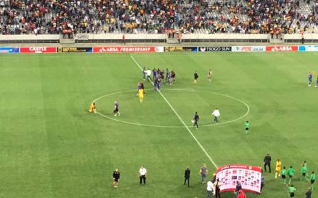 Cape Town City beat Kaizer Chiefs 3-2 on 25 April 2017 in the race for the 2016/2017 PSL title. Picture: @PatriciaDeLille/Twitter