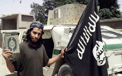 FILE: 27-year-old Belgian IS group leading militant Abdelhamid Abaaoud, also known as Abu Umar al-Baljiki, believed to be the mastermind of the Paris attacks. Picture: AFP/HO/Dabiq