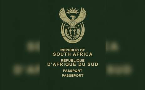 South African passport. Picture: Wikimedia Commons.