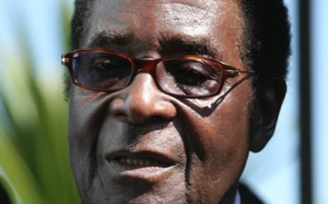 Zimbabwe President Robert Mubage.