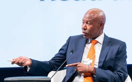 FILE: Lesetja Kganyago, Governor South African Reserve Bank (SARB), at the World Economic Forum on Africa 2017 in Durban, South Africa, 2017. Picture: World Economic Forum.