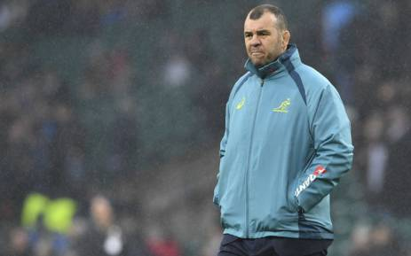Wallabies coach Michael Cheika. Picture: AFP