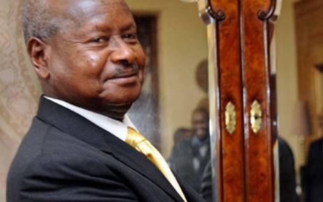 FILE: Ugandan President Yoweri Museveni. Picture: GCIS