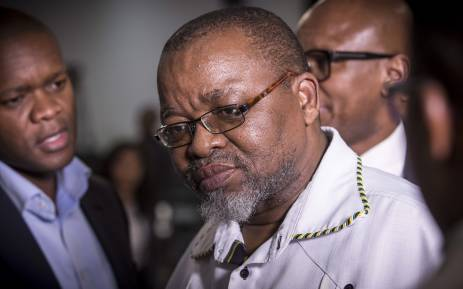 Gwede Mantashe. Picture: Thomas Holder/EWN