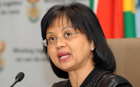 Former Energy Minister Tina Joemat-Pettersson. Picture: GCIS