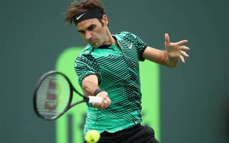 FILE: Roger Federer. Picture: @MiamiOpen /Twitter