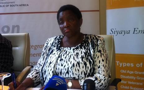 FILE: Social Development Minister Bathabile Dlamini. Picture: Catherine Rice/EWN.