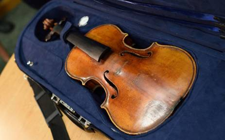 FILE: Police found the violin in the last section of the carriage and returned it to the woman. Picture: AFP.