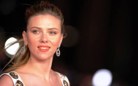 Actress Scarlett Johansson. Picture:AFP.