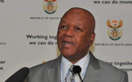 FILE: Justice Minister Jeff Radebe. Picture: GCIS.