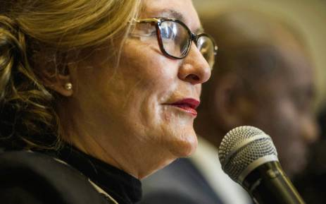 FILE: Western Cape Premier Helen Zille. Picture: AFP.