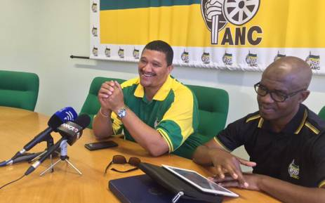 FILE: African National Congress Western Cape leader Marius Fransman (L). Picture: Xolani Koyana/EWN.