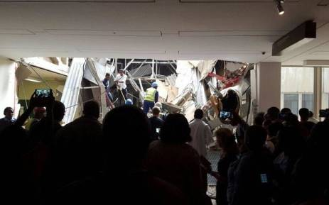 At least 5 people injured in Charlotte Maxeke roof collapse