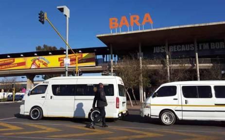 FILE: Bara Taxi Rank in Johannesburg. Picture: Louise McAuliffe/EWN.