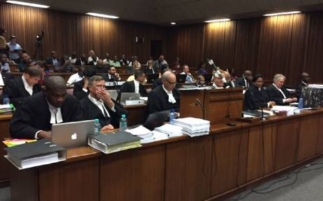 Legal counsel for the NPA, President Zuma and the DA in court for the Spy Tape saga on 1 March 2016. Picture: Vumani Mkhize/EWN