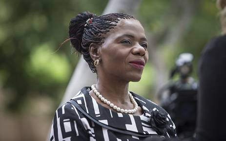 Public Protector Advocate Thuli Madonsela attended proceedings at the Constitutional Court in Johannesburg on 9 February 2016. Picture: Reinart Toerien/EWN.