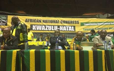 FILE: ANC national and provincial leadership at the consultative conference on Friday, 8 June. Picture: Ziyanda Ngcobo/EWN