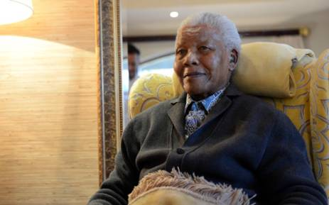 File photo: Nelson Mandela at his homestead in Qunu, in the Eastern Cape, two days before his 94th birthday. Picture: Lyoness.TV.