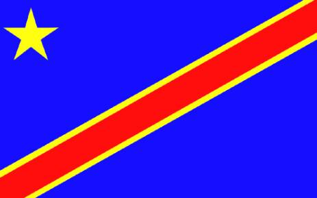 Democratic Republic of Congo flag