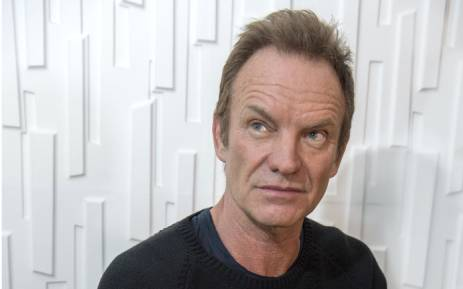 Musician Sting. Picture: AFP.