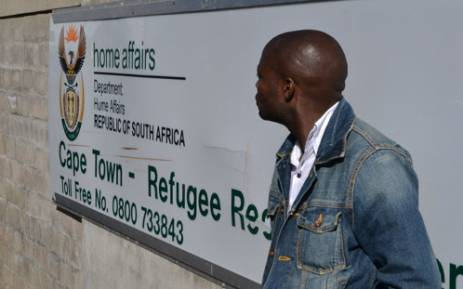The entrance to the Maitland Refugee Reception Centre in Cape Town. Picture: Aletta Gardner/EWN