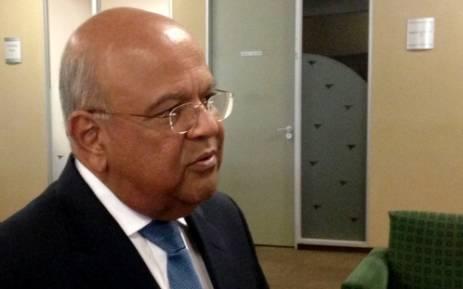 Finance Minister Pravin Gordhan. Picture: Reinart Toerien/EWN.