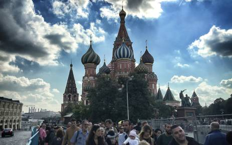 The Red Square and the magnificent St Basil's Cathedral. Picture: Alex Eliseev/EWN""