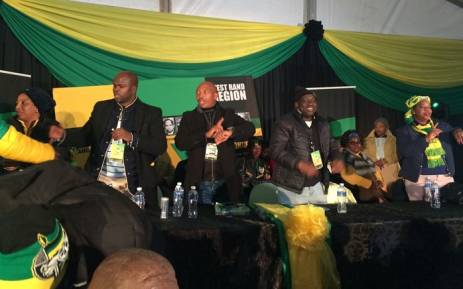 ANC West Rand regional conference, July 2018. Picture: ANC Gauteng/Twitter.