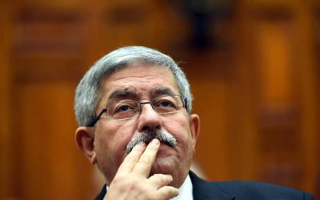 Algerian Prime Minister Ahmed Ouyahia attends a congress session in the capital Algiers on 4 September 2017. Picture: AFP