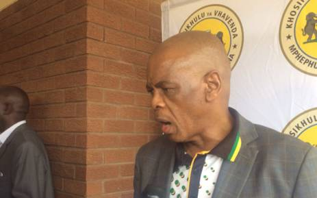 African National Congress Secretary General Ace Magashule in Limpopo on 3 February 2018 in Limpopo before a meeting with Vhavenda traditional leaders