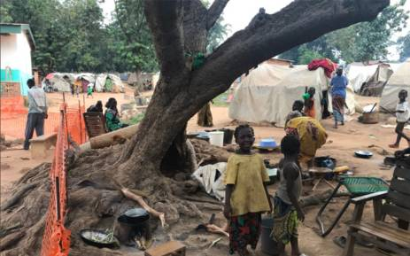 Around 7,000 people are seeking refuge at the local Médecins Sans Frontières hospital in the Central African Republic capital city of Bangui. Picture: Kevin Brandt/EWN.