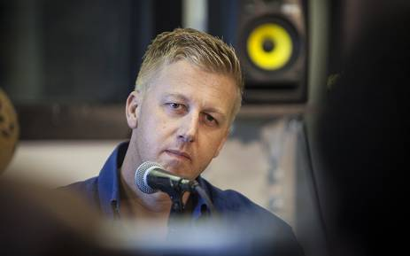 Media personality Gareth Cliff looks on during a press conference in Johannesburg on 30 January 2016 after the courts ruled that he be reinstated as a judge on tv show 'Idols'. Picture: Reinart Toerien/EWN