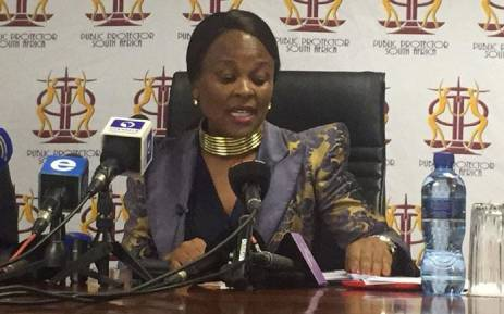 Public Protector denies conspiring with Presidency, SSA