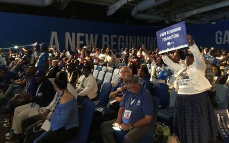 Delegates attend the Gauteng Democratic Alliance's elective conference on 18 November 2017. Picture: @Our_DA/Twitter