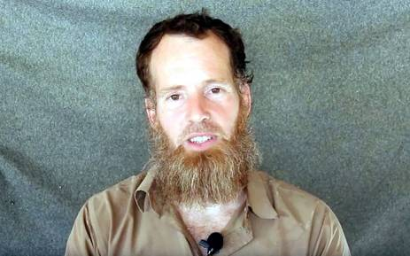 A screengrab from the latest video of South African Stephen McGowan who is being held hostage in Mali. Picture: Supplied