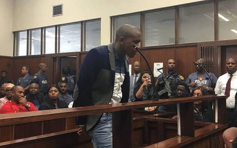 Murder accused Thabani Mzolo seen in court on 17 May 2018. Picture: Ziyanda Ngcobo/EWN