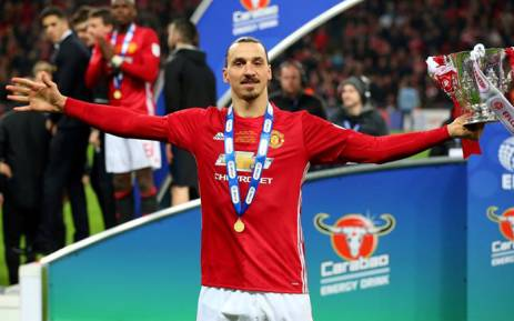 Manchester United's Zlatan Ibrahimovic proved his hunger for silverware has not diminished with age as the Swede's double earned a 3-2 win over Southampton in an absorbing League Cup final at Wembley on 26 February 2017. Picture: Facebook.