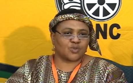 FILE: ANC Tshwane mayoral candidate Thoko Didiza. Picture: YouTube screengrab.