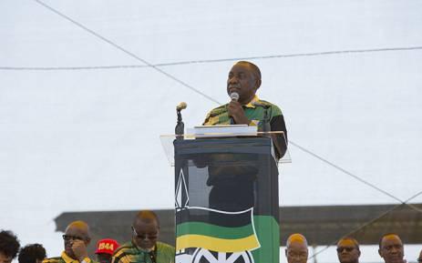 ANC President Cyril Ramaphosa. Picture: Sethembiso ZuluEWN.