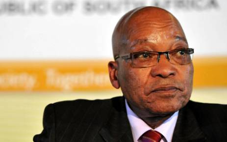 President Jacob Zuma. Picture: SAPA