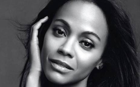 FILE: US actress Zoe Saldana. Picture: Twitter.